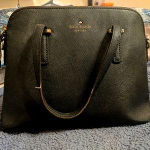 Kate Spade black preloved handbag